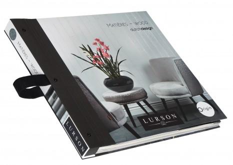 Libro de la Colección Lurson Matieres Wood 348-360431