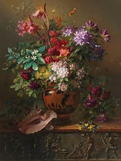 Fotomural Floral Hall A08-M1010