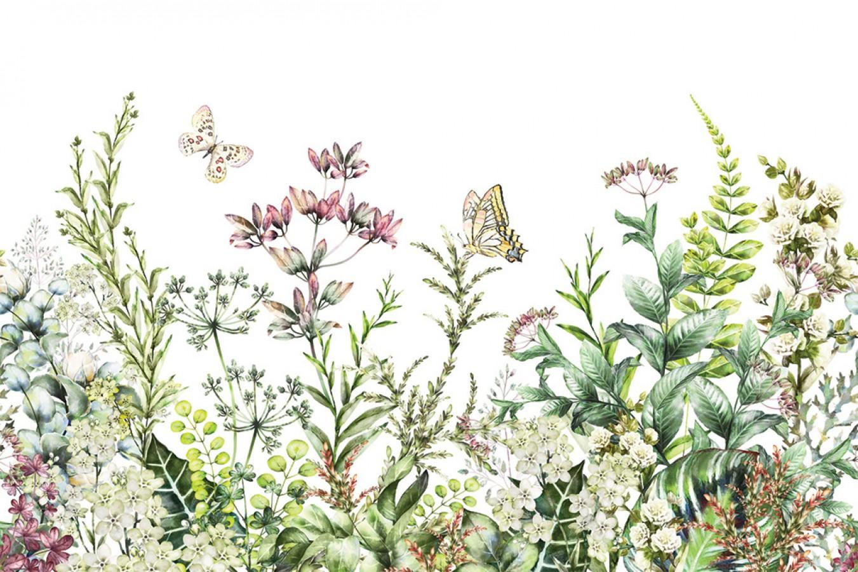 Fotomural Butterflies Garden A08-M1028   A08-M1028