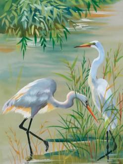 Fotomural Lake Birds A08-M1029