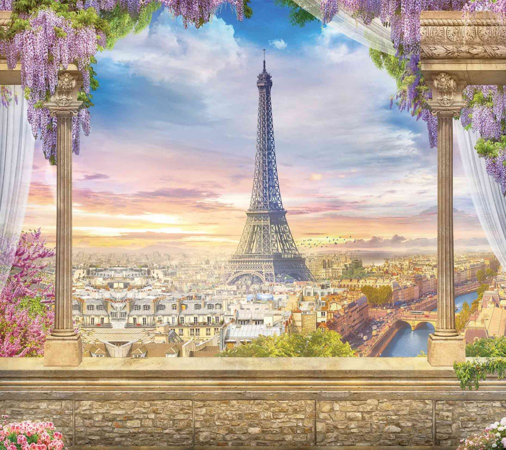 Fotomural Paris Romantique 14711 Fotomural Paris Romantique 14711