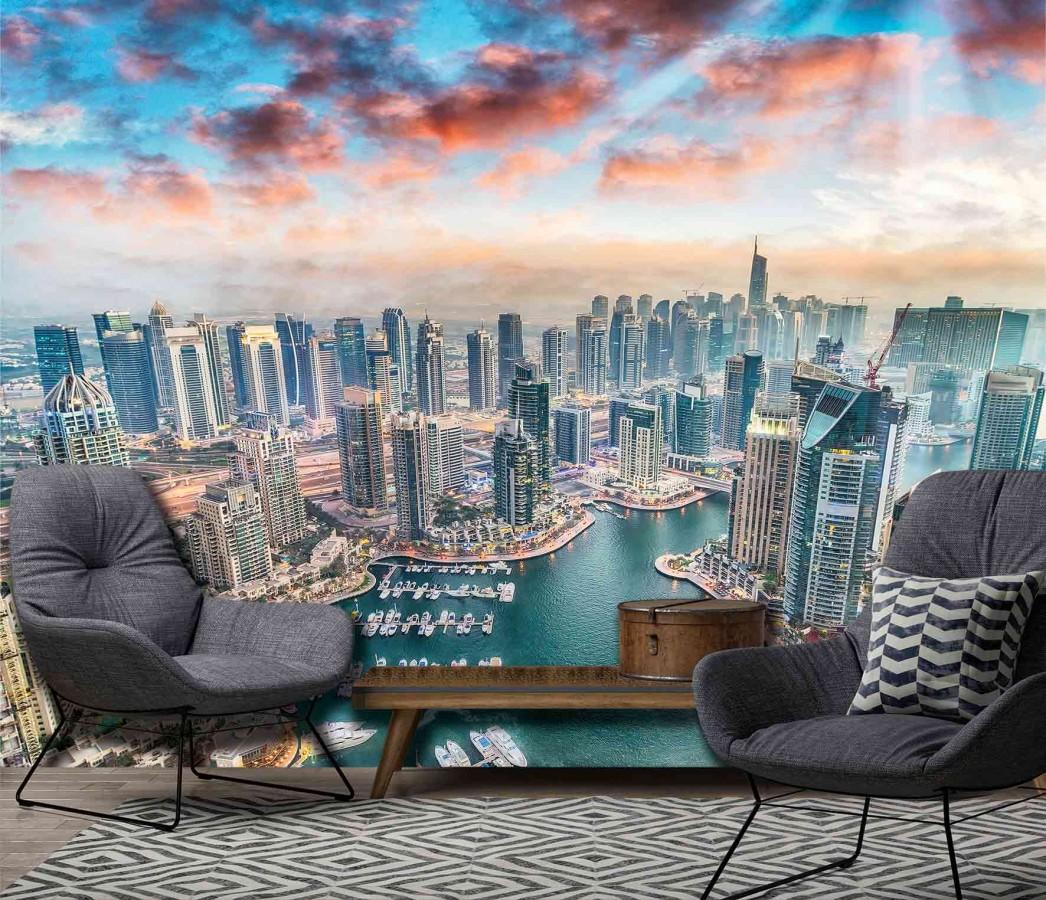 Fotomural Discover Dubai A08-M880   A08-M880