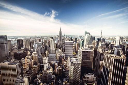 Fotomural Life in NY