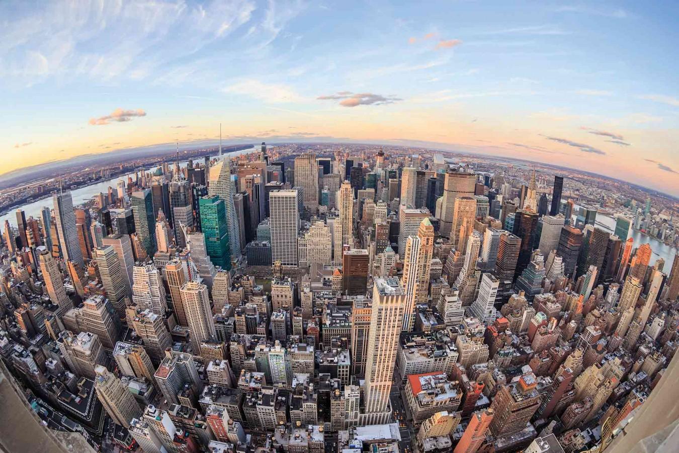Fotomural Manhattan Sky A08-M883   A08-M883