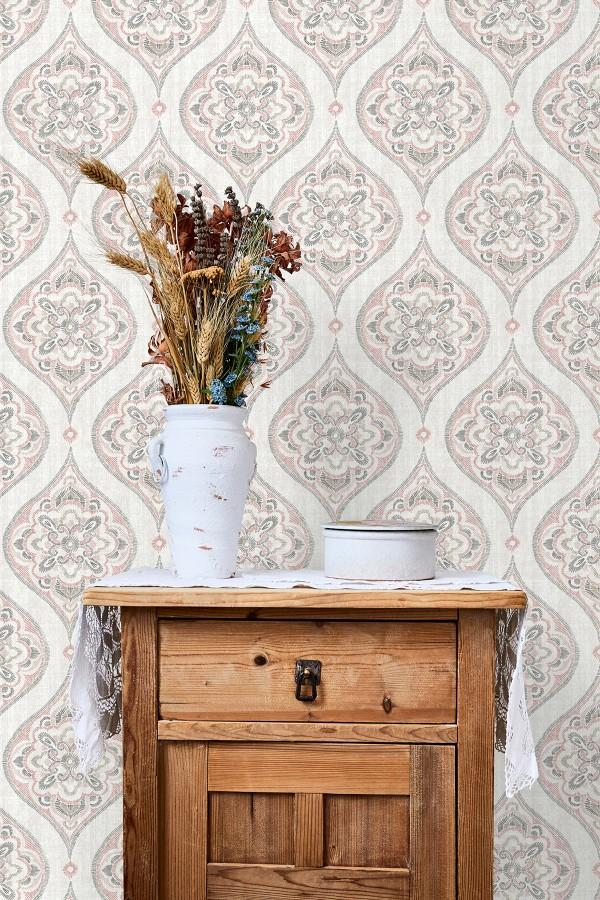 Papel pintado Lurson Nora Bloom NOR-3150  | NOR3150